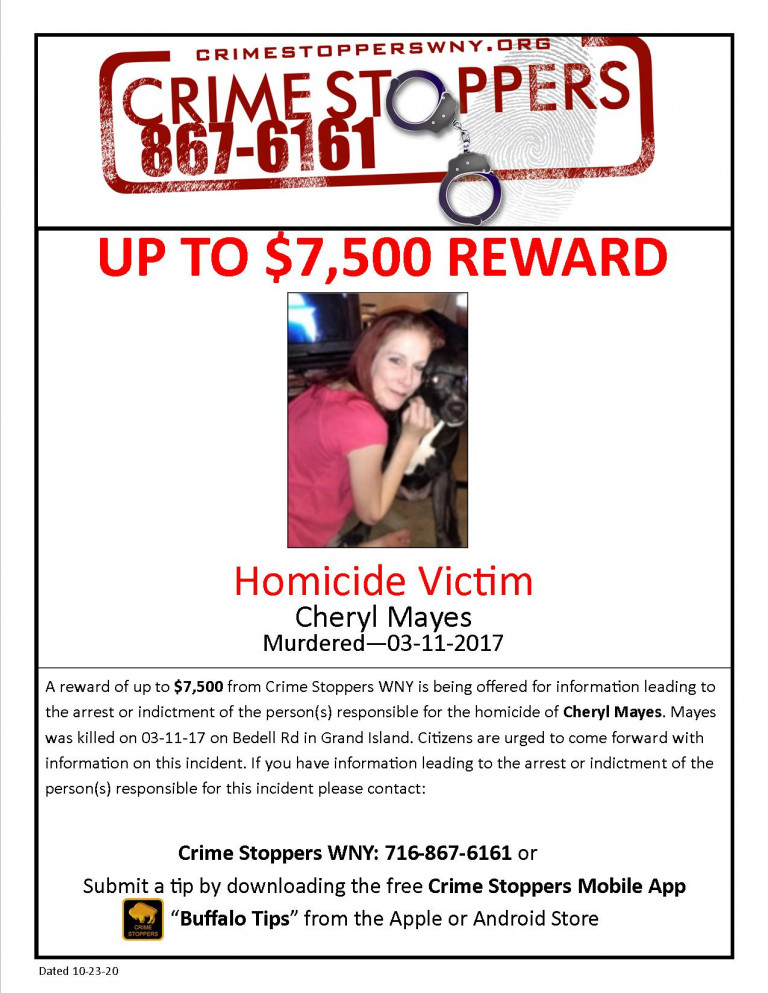 CrimeStoppers_HomicideVictim_CherylMayes